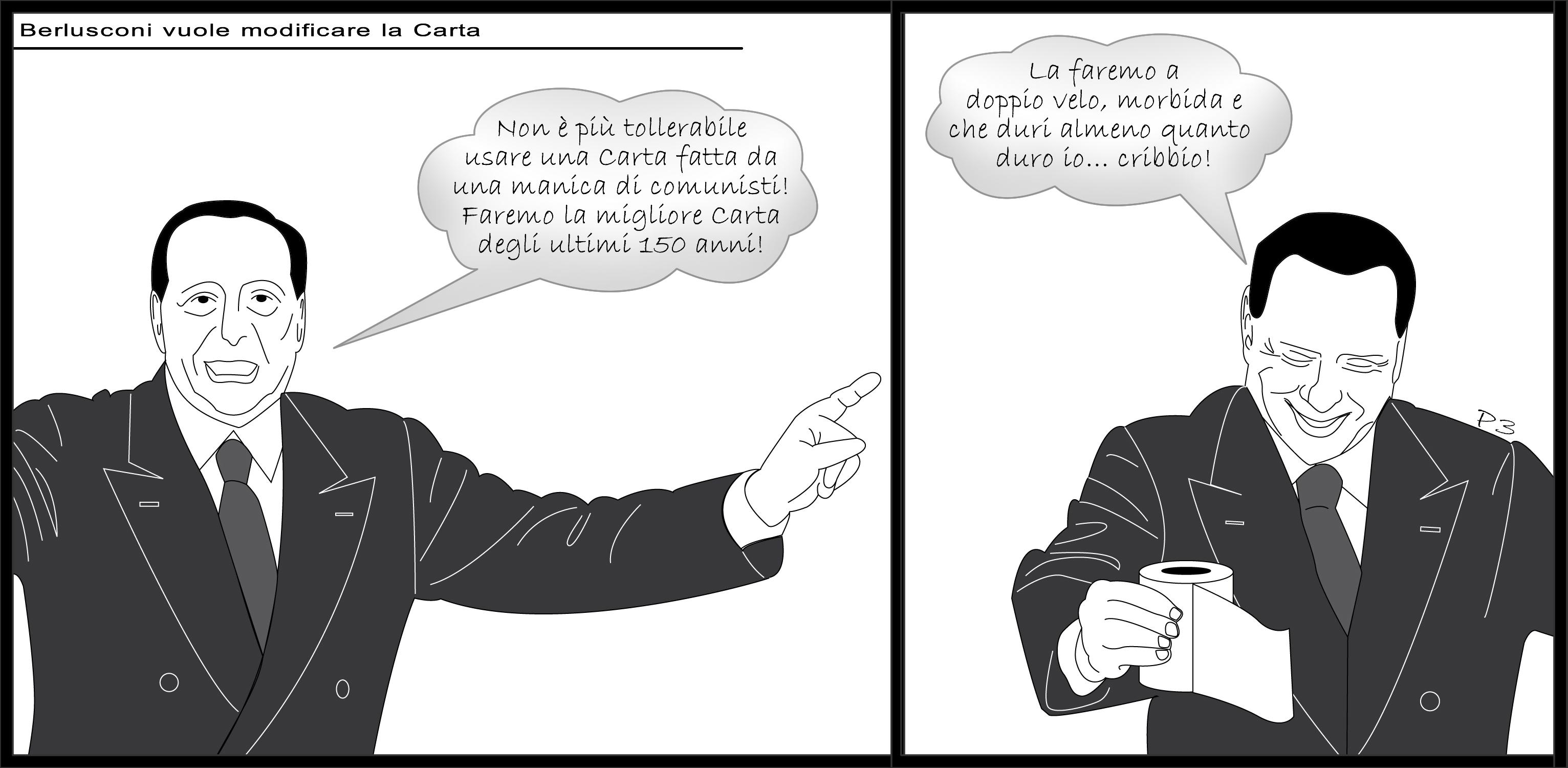 Berlusconi e la carta costituzionale