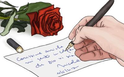 La Speranza in un mazzo di rose