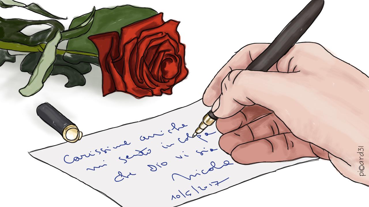 Un mazzo di rose, un segno di speranza