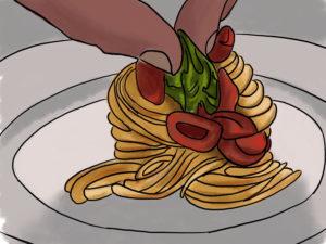 Cannavacciuolo e i DUE spaghetti
