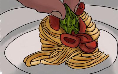 I DUE spaghetti DUE di Cannavacciuolo