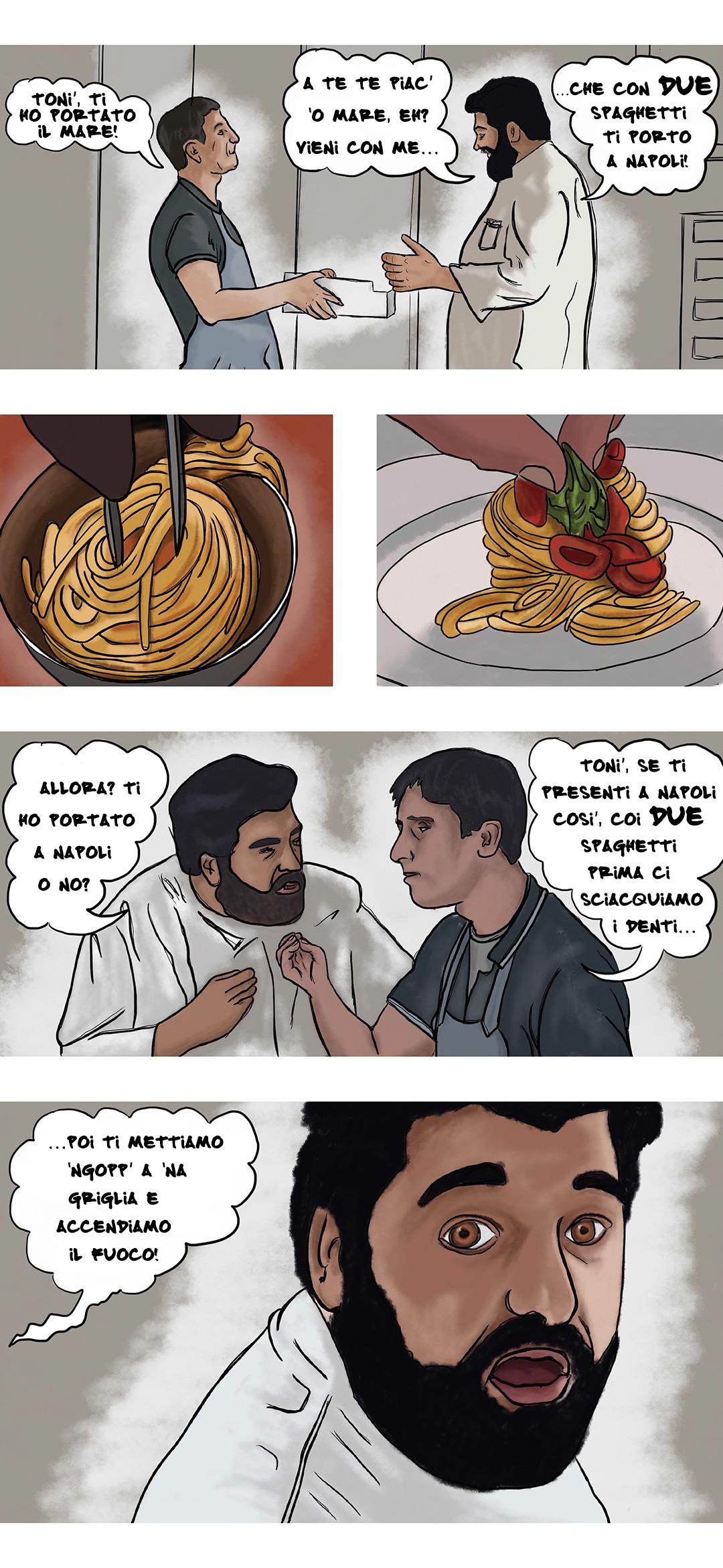 I DUE spaghetti dello Chef Antonino Cannavacciuolo