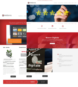 Restyling sito internet SaleService.it - Concessionario Xerox Avellino